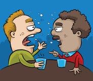 Conversazione ubriaca del pub illustrazione vettoriale