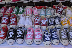 Converse all star shoes Stock Photography
