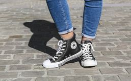 Converse All Star Sneakers Royalty Free Stock Photo
