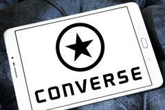 Converse logo Royalty Free Stock Image