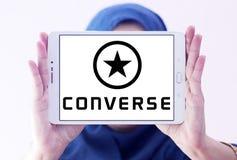 Converse logo Royalty Free Stock Photography