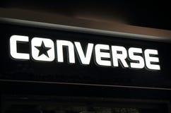 Converse shoe company Stock Image