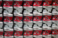 Converse shoes Royalty Free Stock Photos