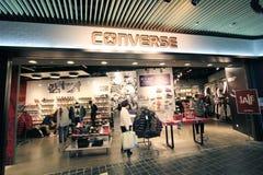 Converse sklep w Hong kong Zdjęcia Royalty Free