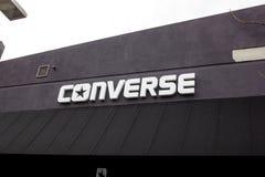 Converse sklepu znak zdjęcie royalty free