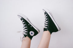 Converse Sneakers  Royalty Free Stock Photography