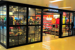 Converse store in hong kong Stock Photo