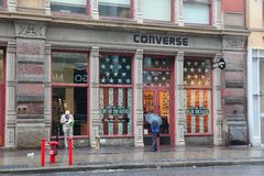 Converse store, Manhattan Stock Images