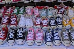 Conversent toutes les chaussures d'étoile Photographie stock