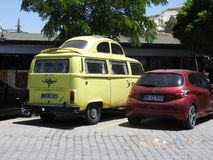 Conversion de véhicule de Kombi photos libres de droits