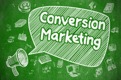 Conversion Marketing - Business Concept. Royalty Free Stock Photography
