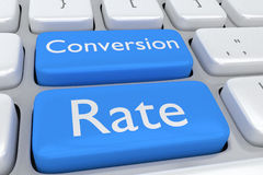 Conversion Rate concept Royalty Free Stock Photography