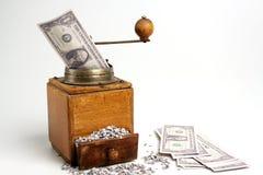 Conversor do dinheiro Imagem de Stock Royalty Free