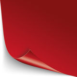 Convert Brochure Red Paper Cover Royalty Free Stock Image