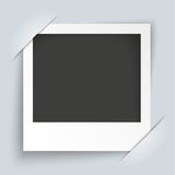 Convert Instant Photo Frame. On the gray background stock illustration