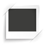 Convert Instant Photo Frame White Background Royalty Free Stock Photos