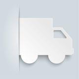 Convert Shipping Car Brochure Royalty Free Stock Image
