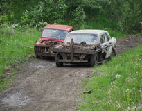 Converted cars Stock Images