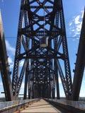 Louisville 2. Converted rail bridge royalty free stock image