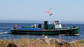 Converted tug Stock Photography