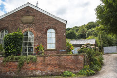 Converted Wesleyan School in House near Alderley Edge in the Cheshire Countryside Stock Images