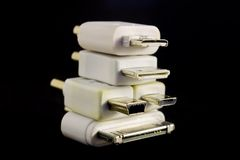 Universal Converter Plugs Royalty Free Stock Image