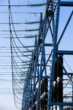 Converter Station, Substation Type In Electric System Stock Photo