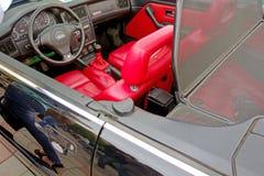 Convertibel Audi Stock Foto