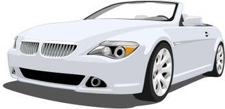 Convertibel BMW M6 royalty-vrije illustratie