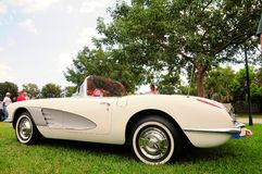 1958 Convertibel Korvet Royalty-vrije Stock Foto