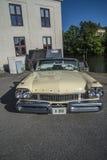 1957 Convertibel Mercury Turnpike Cruiser Pace Car Royalty-vrije Stock Foto