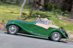 1954 Convertibel MG TF Stock Afbeeldingen