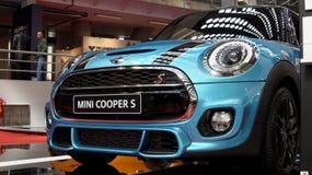 Convertibel Mini Cooper S Stock Foto