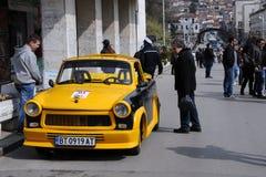 Convertibel Trabant Stock Afbeeldingen