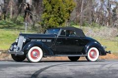 1937 Convertibele Packard 120 Stock Afbeeldingen