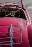 Convertibele uitstekende auto Royalty-vrije Stock Afbeelding