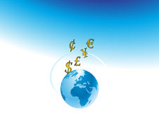 convertibele valuta Royalty-vrije Illustratie