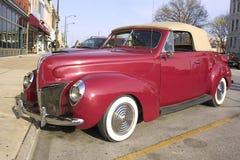 Convertibile 1939 del Ford Immagini Stock