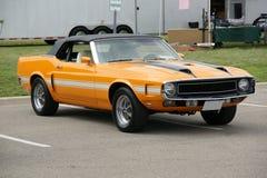 Convertibile 1970 di Shelby Immagine Stock Libera da Diritti