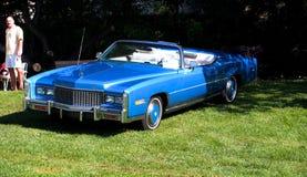 Convertibile classico ristabilito di Cadillac Fotografia Stock Libera da Diritti