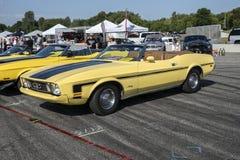 convertibile 1972 del mustang Immagine Stock Libera da Diritti