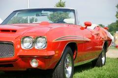Convertibile della Pontiac GTO Fotografia Stock Libera da Diritti