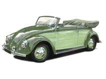 Convertibile dello scarabeo di VW Fotografia Stock Libera da Diritti