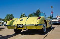 Convertibile 1958 di Chevrolet Corvette Fotografia Stock