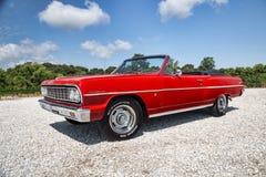 Convertibile 1964 di Chevrolet Malibu Immagini Stock