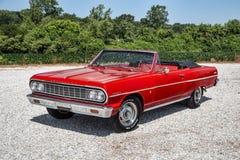Convertibile 1964 di Chevrolet Malibu Fotografie Stock Libere da Diritti