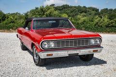 Convertibile 1964 di Chevrolet Malibu Immagini Stock Libere da Diritti