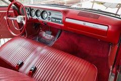 Convertibile 1964 di Chevrolet Malibu Immagine Stock