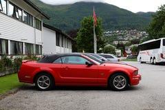 Convertibile di Ford Mustang GT del cabriolet Immagini Stock Libere da Diritti