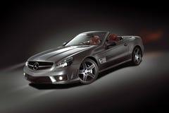 Convertibile di Mercedes-Benz SL Immagine Stock Libera da Diritti